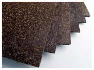 NITRILE CORK coarse grain RUBBER SHEETS